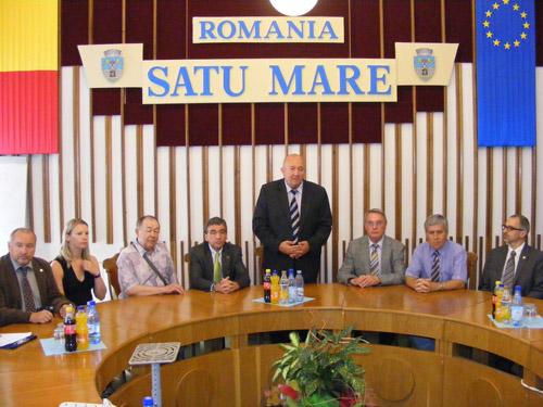 O delegaţie din Wolfenbuttel vizitează Satu Mare