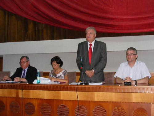 Primarii şi secretarii au fost instruiţi cu privire la referendum