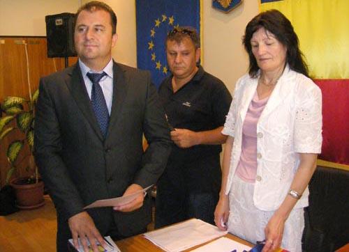 Primarul comunei Odoreu a depus astăzi jurământul