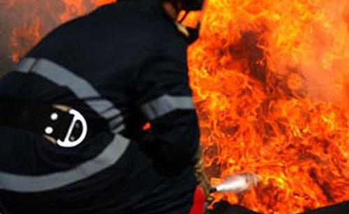 Boschetar mort într-un incendiu