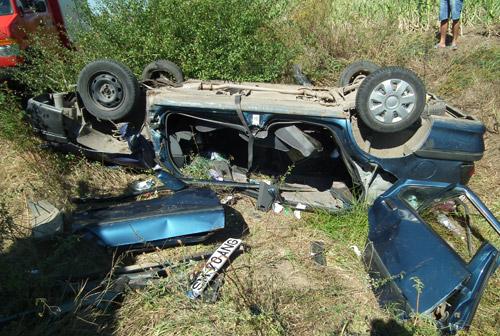 Accident cu 5 victime pe strada Amațiului (galerie foto)