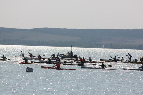 Nomad Kayak a reprezentat Satu Mare la concursul de la Balaton