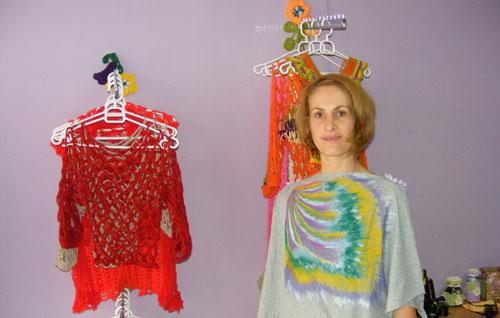 Artă, vestimentaţie şi o mare de culori, marca D'Anartis