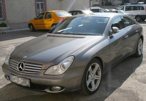 Mercedes Benz de 60.000 euro, furat din Italia