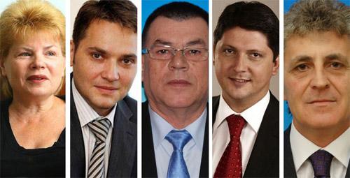 Guvernul Ponta va avea cinci noi miniştri
