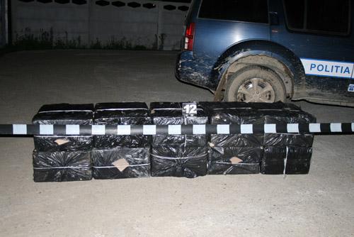 5000 de pachete de ţigări confiscate la Halmeu