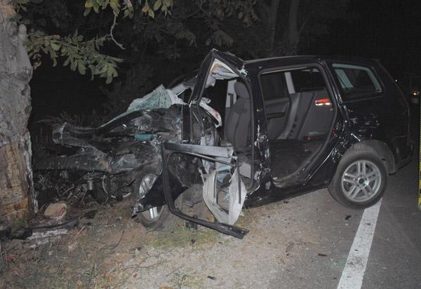 Accident mortal la intrarea în Petrești