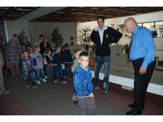 Copii în vizită la Primăria Satu Mare