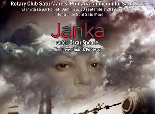 Janka, duminică la Teatrul de Nord Satu Mare