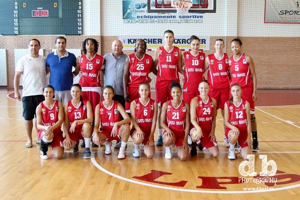 Baschetbalistele CSM-ului au învins Universitatea Cluj