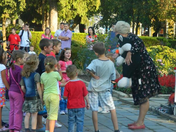Lumea copiilor … în Parcul Central din Satu Mare