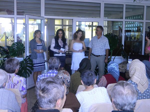 Pedelistele au împărțit cadouri la Căminul-spital pentru bolnavi cronici din Satu Mare