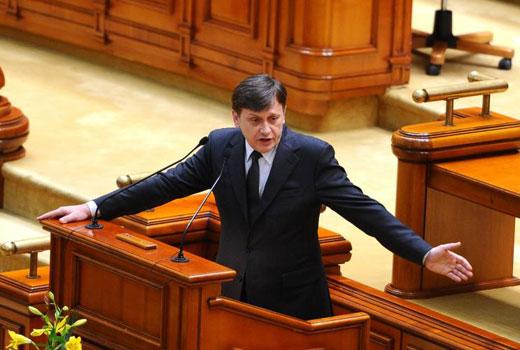 Planul PDL pentru înlocuirea lui Crin Antonescu de la şefia Senatului