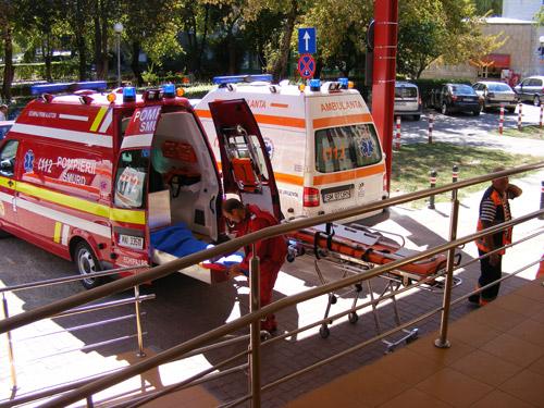 Un muncitor de la UNIO, a ajuns cu arsuri grave la spital