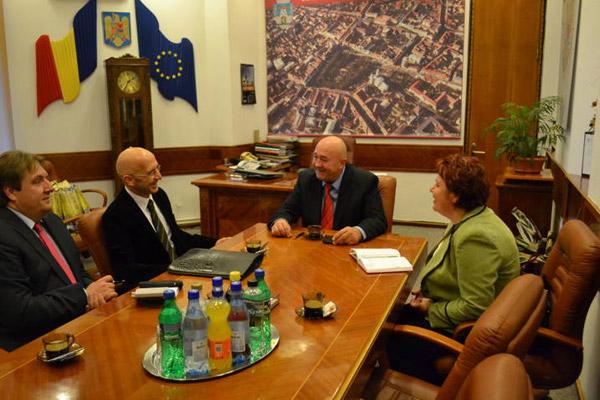 Ambasadorul Franţei în vizită la Satu Mare