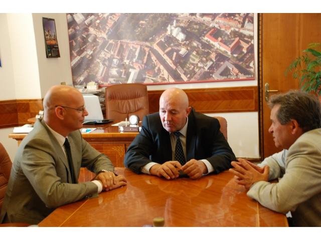 Dorel Coica s-a întâlnit astăzi, cu consulul onorific al Regatului Țărilor de Jos