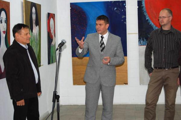 Expoziţie Rainer Mate la Galeria de Artă din Piaţa 25 Octombrie