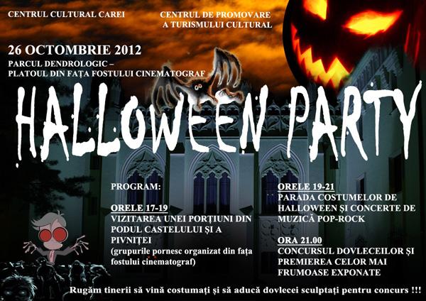 """Halloween Party"" la Carei"