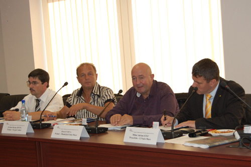 Dorel Coica și Adrian Ștef au participat la Cluj, la ședința CDR Nord-Vest