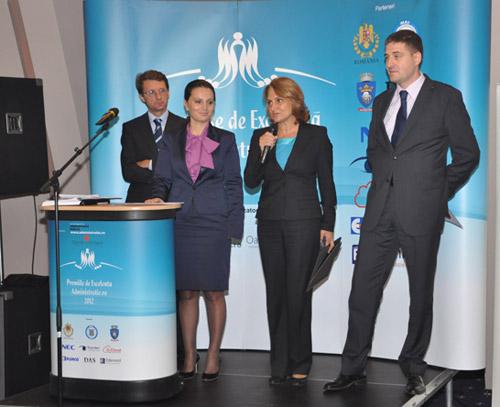 Primarul Aurelia Fedorca, la Gala Premiilor de Excelență în Administrație