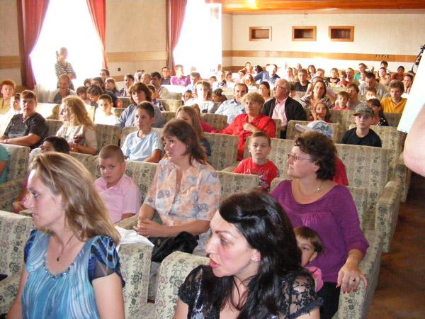 Deschidere de an școlar la Palatul Copiilor