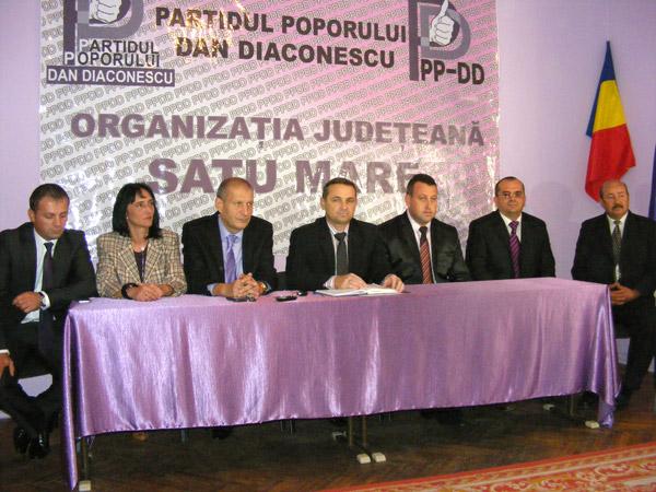 PP-DD Satu Mare şi-a prezentat candidaţii