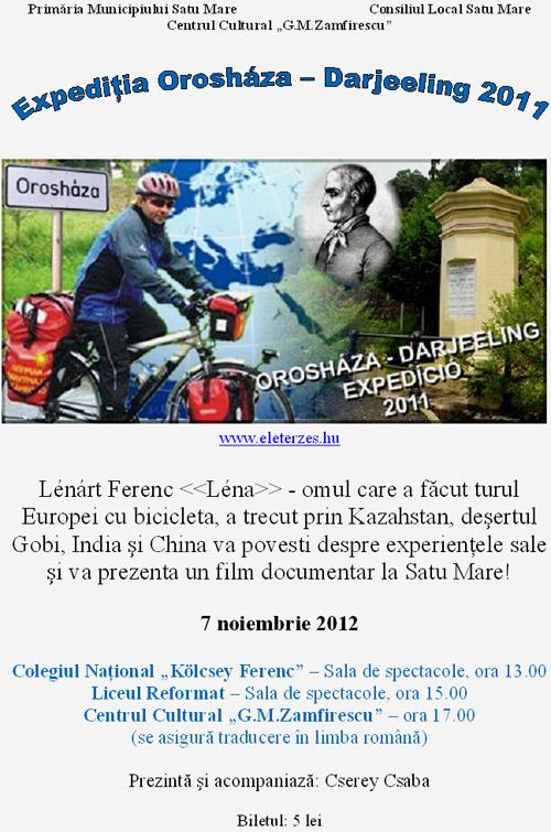 Expediţia Orosháza – Darjeeling 2011
