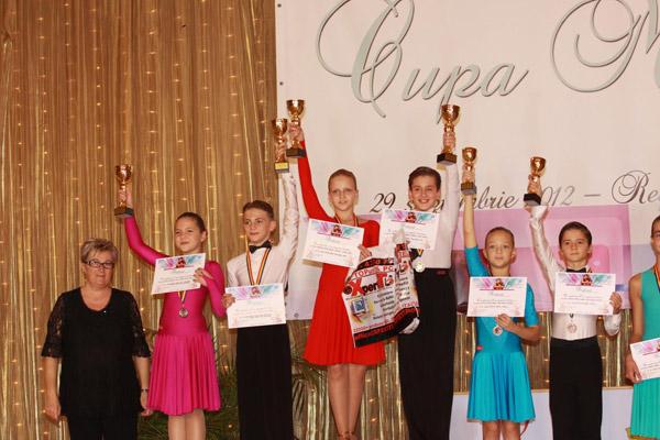 """Rezultate bune pentru dansatorii de la Royal, la Cupa """"Mirona"""" de la Reghin"""