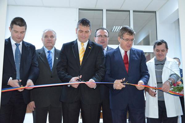 A fost inaugurată noua secţie de ortopedie de la Spitalul Judeţean de Urgenţă Satu Mare