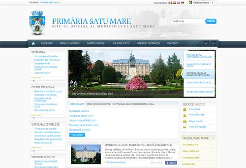Site-ul Primăriei Satu Mare atacat de hackeri