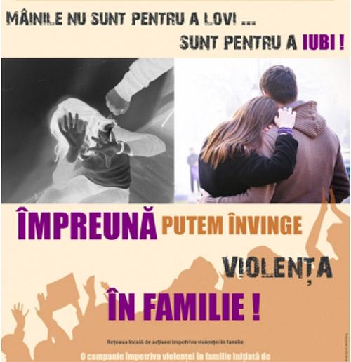 Violenţa în familie există … să vorbim despre ea!