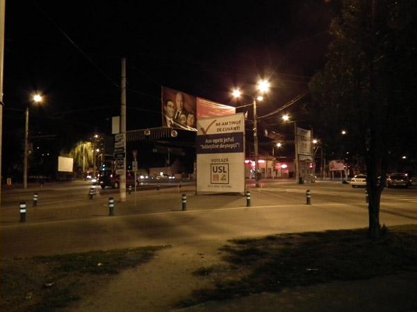 UPDATE: Bannerul de la Burdea a fost dat din nou jos
