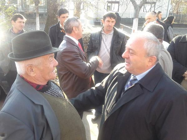 Nicolae Bura, primit cu braţele deschise la Tarna Mare