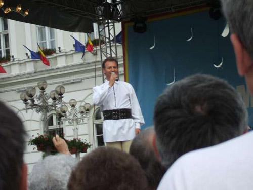 Spectacol cu Dinu Iancu Sălăjanu vineri la Satu Mare
