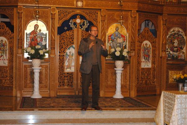 """Maestrul Dan Puric a vobit """"Despre iubirea creştină"""" în capitala Ţării Oaşului"""