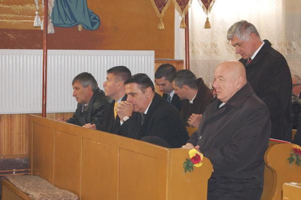 Ovidiu Silaghi a participat astăzi la liturghia oficiată în satul Măriuş
