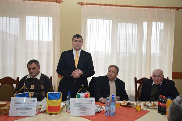Îmbunătăţirea condiţiilor de trafic între localităţile Csengerujfalu şi Doba
