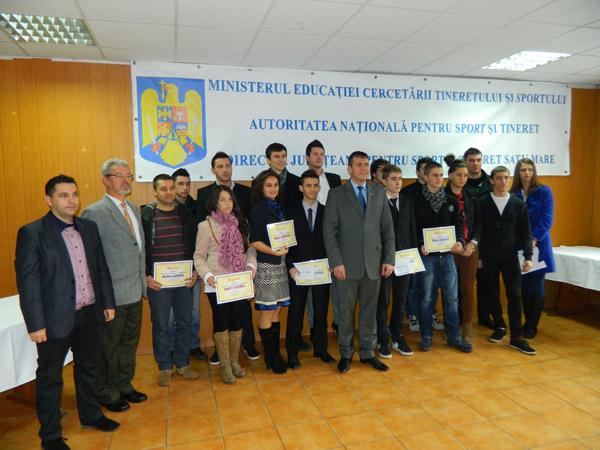 Au fost premiați sportivii anului 2012