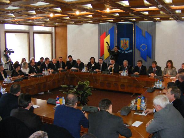 Şedinţă de sfârşit de an la Consiliul Judeţean Satu Mare