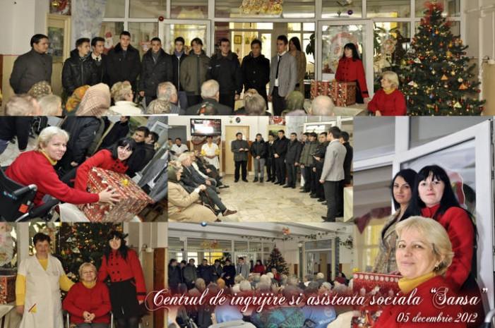 Acţiune umanitară realizată de studenţii social democraţi din Satu Mare
