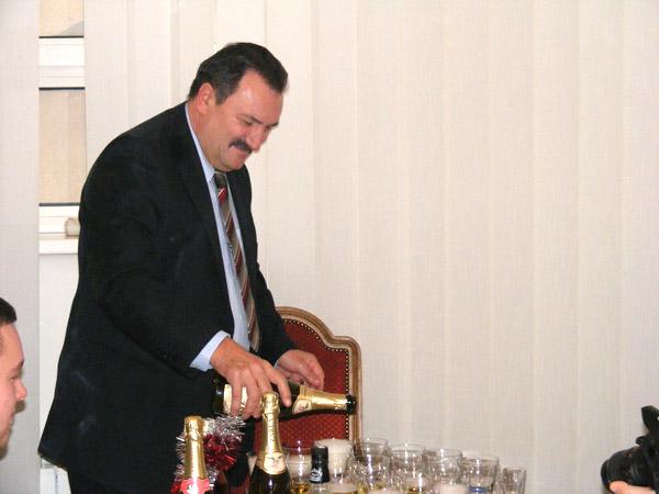 Mircea Ardelean a mulţumit ziariştilor pentru buna colaborare din acest an