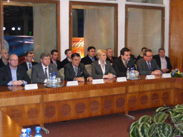 Parlamentarii sătmăreni și-au preluat certificatele