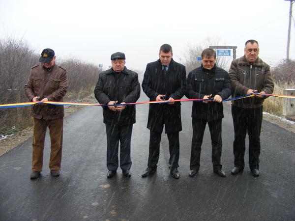 Zeci de km de drumuri judeţene recepţionate de Consiliul Judeţean Satu Mare