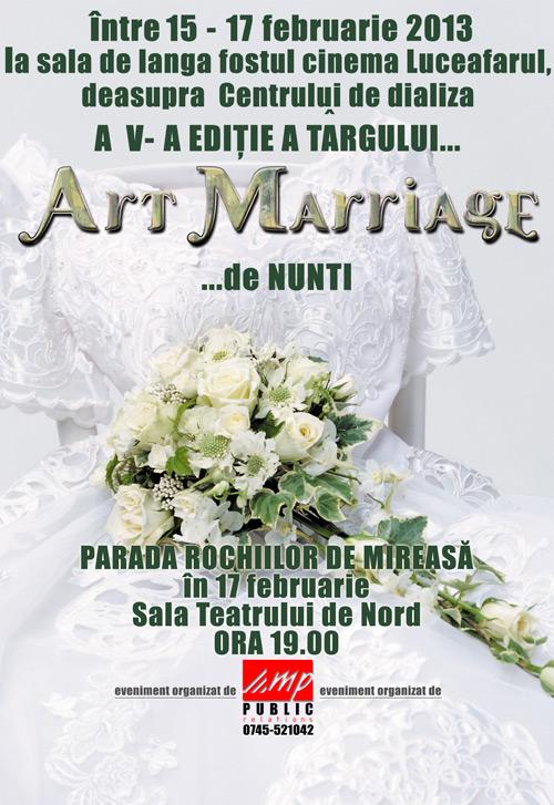 Târgul de nunți Art Mariage la a V-a ediție
