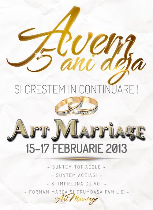 Art Marriage – cel mai așteptat târg de nunți din anul 2013
