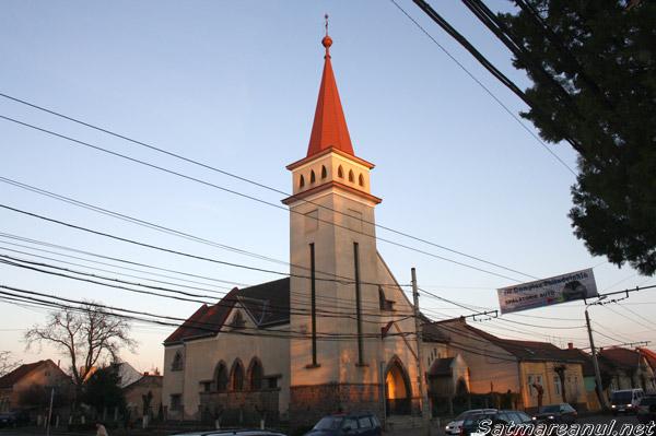 Biserica reformată din cartierul Soarelui a fost jefuită