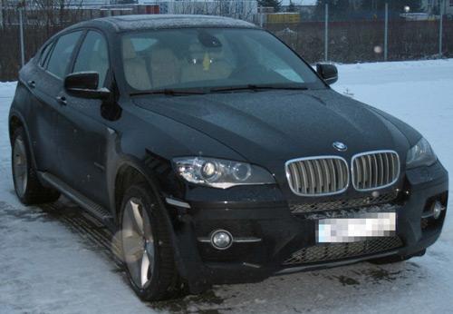 BMW X6 furat din Franţa depistat de poliţiştii de frontieră