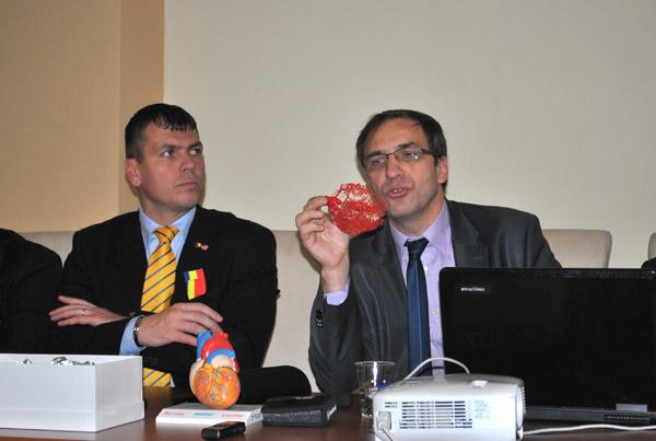 Consiliul Județean va continua să dezvolte Secția de chirurgie cardio-vasculară a SJU