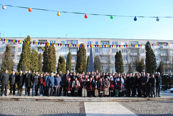 Unirea Principatelor Române, sărbătorită în Negreşti-Oaş