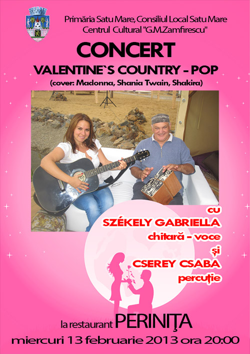Vernisaj şi concert country-pop